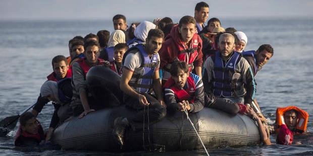 En pleine crise économique, la Grèce voit les migrants affluer par centaines - La DH