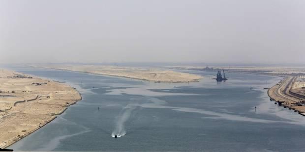 Le nouveau canal de Suez: une oeuvre pharaonique (PHOTOS) - La DH