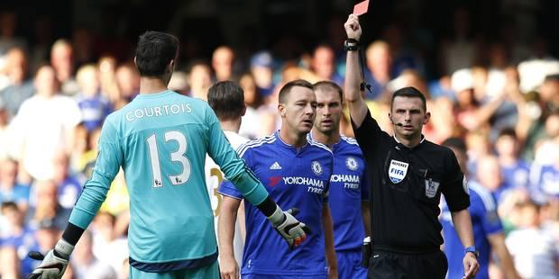 Courtois exclu: Chelsea va faire appel - La DH