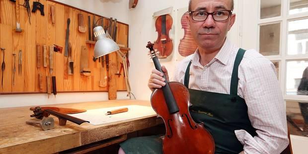 À 16 ans, il décide d'être luthier - La DH