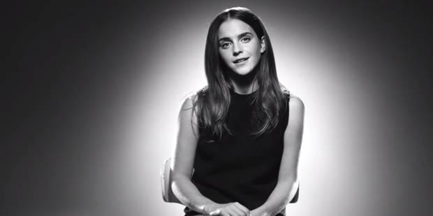 Egalité des sexes : Emma Watson s'attaque au secteur de la mode - La DH
