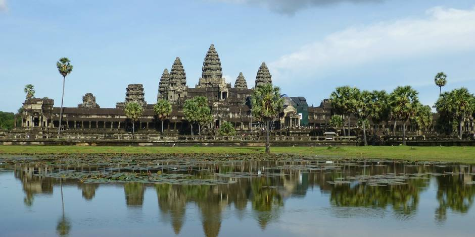 Les temples d'Angkor au Cambodge offrent la plus belle vue à photographier.