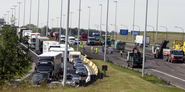 Accident à Strombeek: le ring intérieur n'est plus fermé - La DH