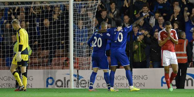 League Cup: but de Mirallas, doubl� de Lukaku (VID�O)