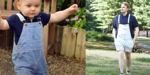 Une semaine dans la peau de Baby George : la vidéo hilarante - La DH