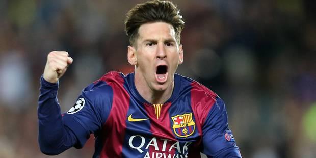 Lionel Messi sacré meilleur joueur UEFA 2014-2015 - La DH