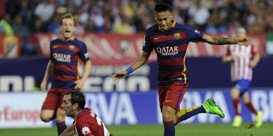Le missile de Neymar dans la lulu de l'Atlético (VIDEO)