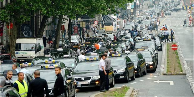 Plus de 1.000 taxis manifesteront mercredi - La DH