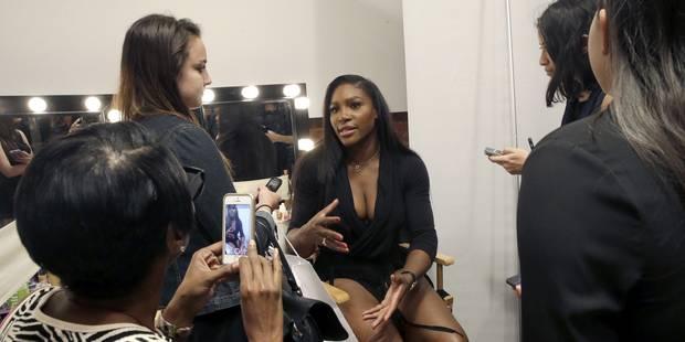 EN IMAGES: la première de Serena Williams sur les podiums de New York - La DH