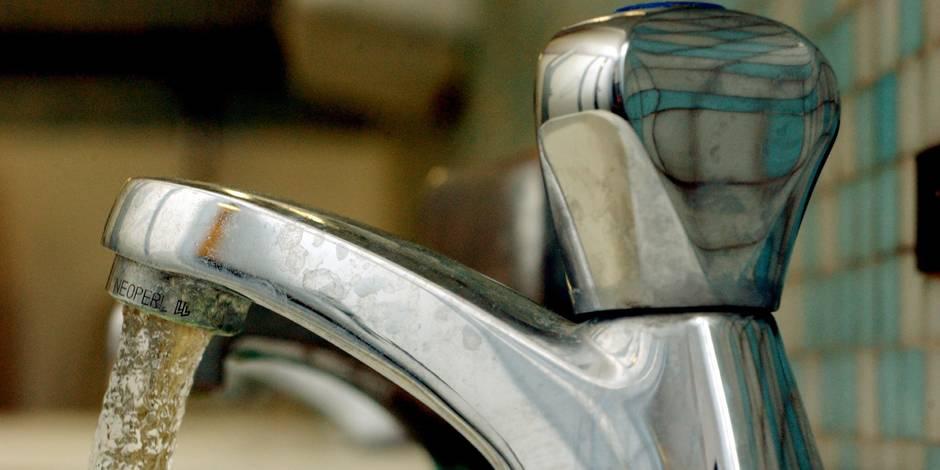 L'eau est trop chère pour 5% des Belges