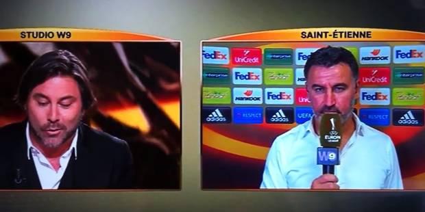 """Christophe Galtier irrité par Stéphane Pauwels: """"Qui êtes-vous?"""" - La DH"""