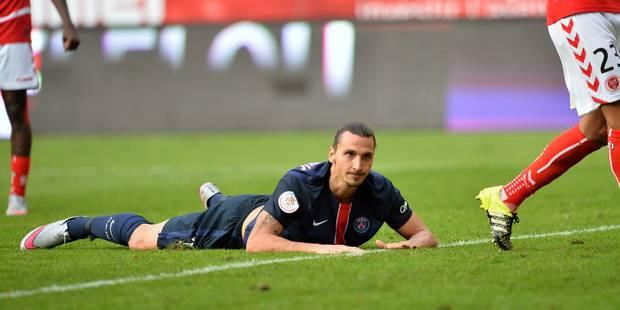 Ibrahimovic rate un but immanquable contre Reims (VIDEO) - La DH