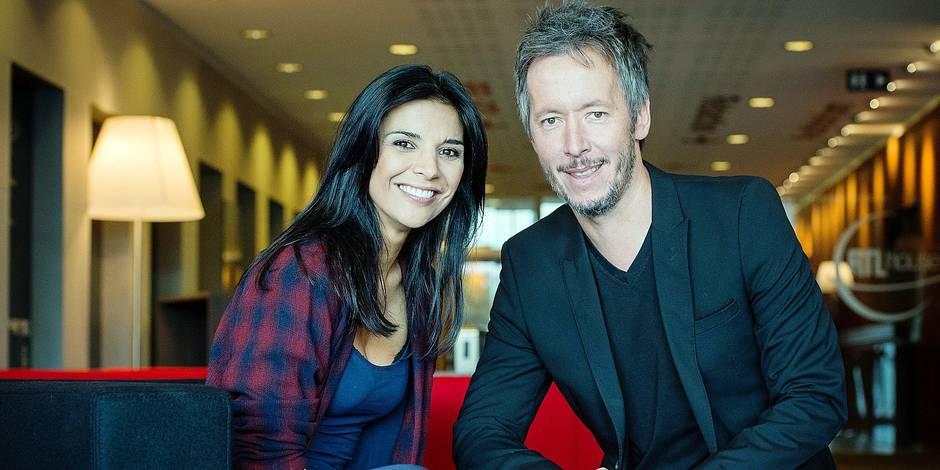 Jean Luc Lemoine et Maria Del Rio RTL