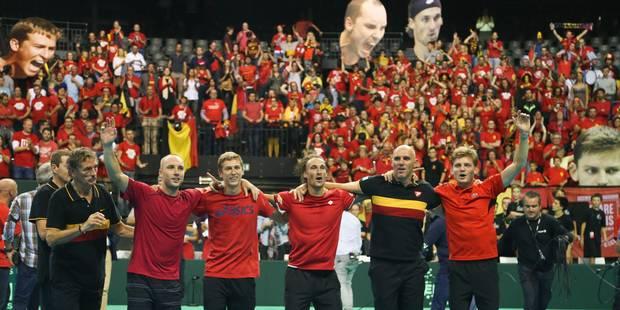 Finale de la Coupe Davis: Les Belges devraient affronter la bande à Murray au Flanders Expo! - La DH