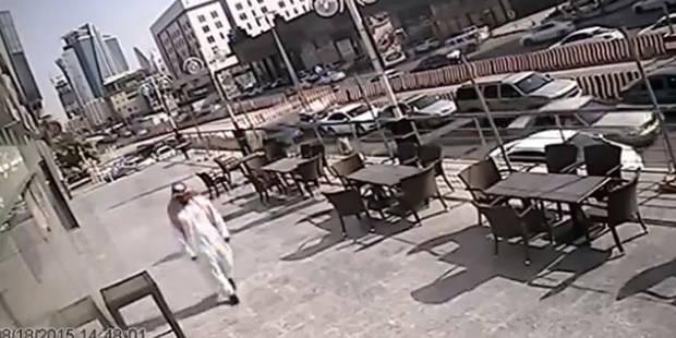 Ce passant échappe de justesse à la mort (VIDEO) - La DH