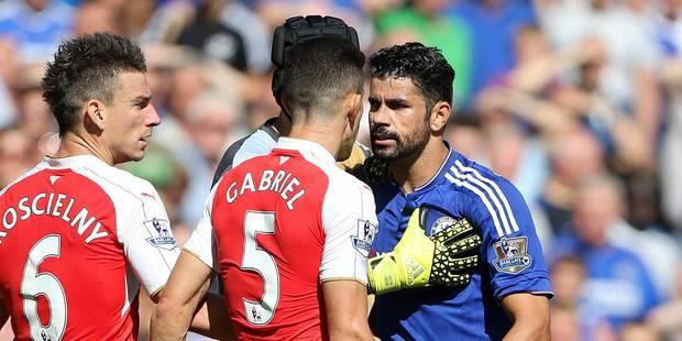 3 matches de suspension pour l'attaquant de Chelsea Diego Costa, Gabriel blanchi - La DH