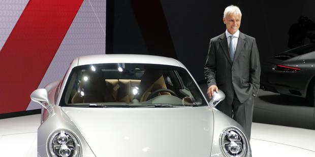 Matthias Müller devient le nouveau patron de VW - La DH