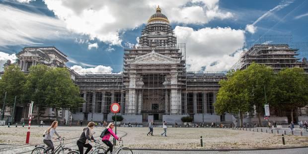 Alerte à la bombe levée au palais Montesquieu à Bruxelles - La DH