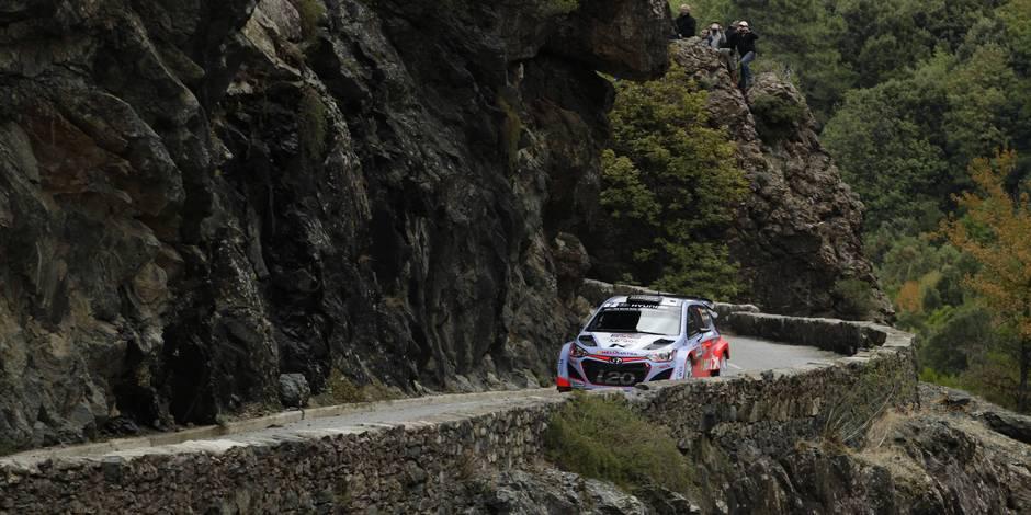 Rallye de Corse: Week-end à oublier pour Neuville