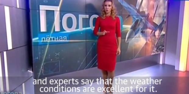Cette présentatrice météo russe dérape sur le conflit en Syrie (VIDEO) - La DH