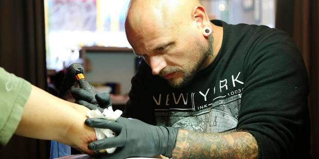 Bruxelles: le nombre de tatoueurs a doublé en cinq ans - La DH