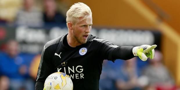 """Dans les buts du Danemark, Kasper Schmeichel, """"fils de"""" - La DH"""