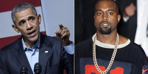 Quand Obama plaisante à propos des ambitions politiques de Kanye West - La DH