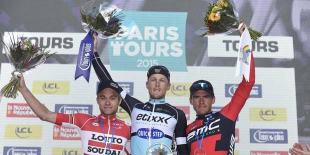 """Greg Van Avermaet: """"Je pense que je devais gagner Paris-Tours"""" (PHOTOS) - La DH"""