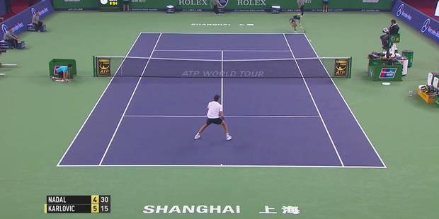 Shanghaï: Nadal enchaîne trois retours monstrueux contre Karlovic (VIDEO) - La DH