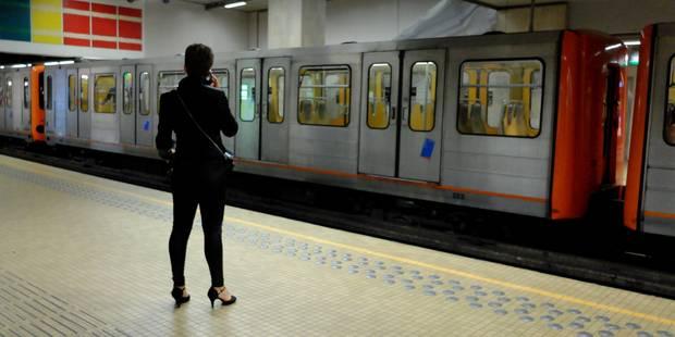 Accident métro Porte de Namur: une femme transportée en urgence à l'hôpital - La DH