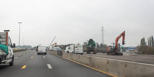 Autoroute E19/E42: ouvriers sur le pont ! - La DH