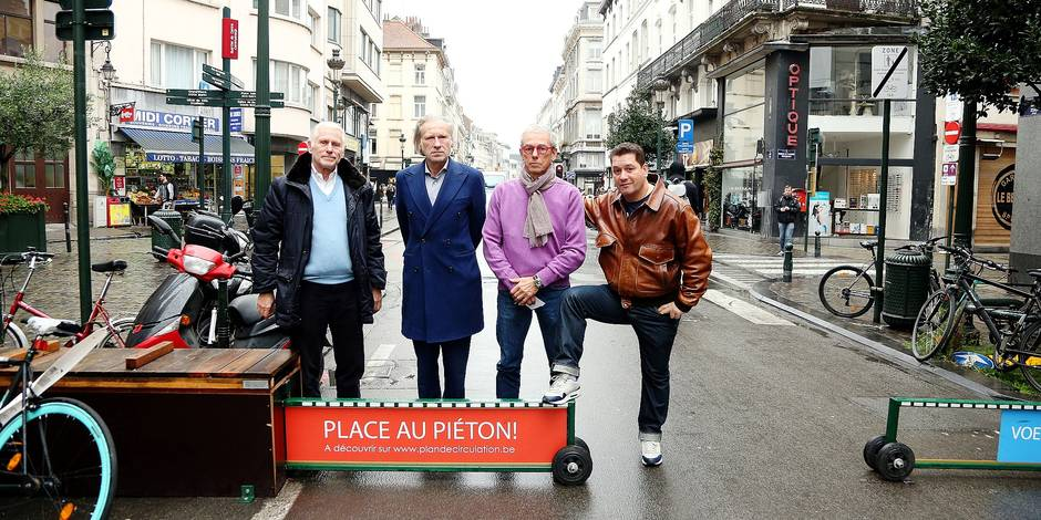 Bruxelles: L'union des commerçants contre le piétonnier