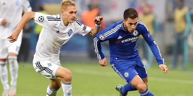 Hazard: un match de bonne facture face au Dynamo Kiev - La DH