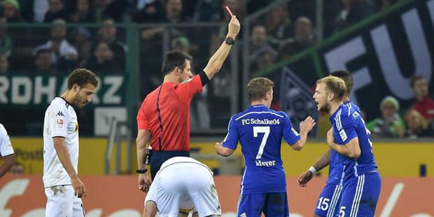 Johannes Geis ne comprend pas: il prend une rouge après avoir massacré le genou de son adversaire (VIDEO) - La DH