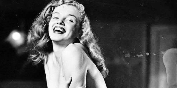 Voici les clichés inédits et sexy de Marilyn Monroe - La DH