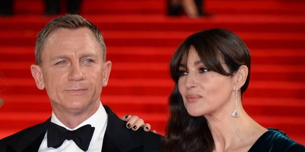 Daniel Craig mouche un journaliste sur Monica Belluci - La DH