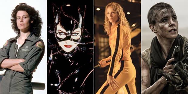 """Ces héroïnes """"badass"""" qui transforment le cinéma - La DH"""