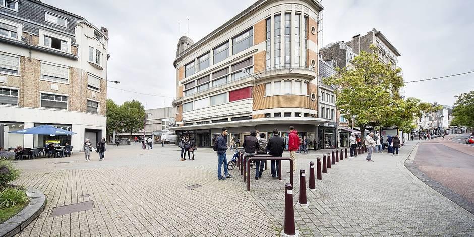 Verviers : reportage sur la ville, dont le Grand-Théâtre, la gare, les commerces, le Spintay, l'hôtel de ville et la Vesdre