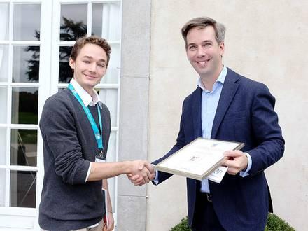 Photos Bernard Demoulin: Prix jeune public Brabant Wallon de la fondation Laure Nobels. Alexandre Van Hoeke