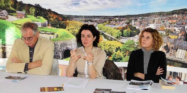Namur veut attirer et garder les touristes - La DH