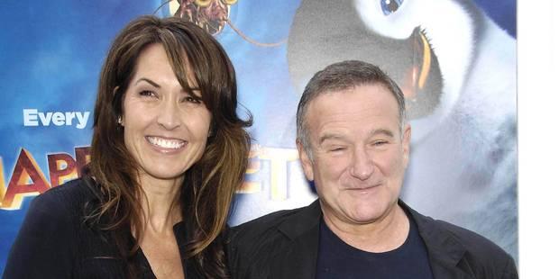 Démence, crises de panique: la veuve de Robin Williams explique ses derniers mois avec l'acteur
