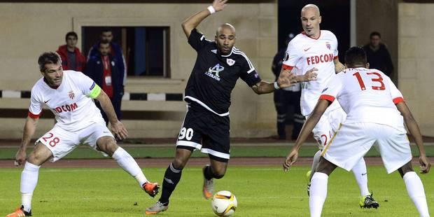 Un ancien Anderlechtois contraint Monaco au match nul - La DH
