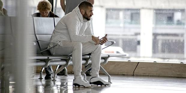Affaire Valbuena: Benzema est rentré à Madrid - La DH