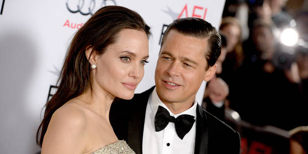 """Angelina Jolie et Brad Pitt : un mariage """"banal"""" - La DH"""