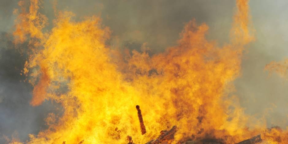 Incendie mortel à Somme-Leuze