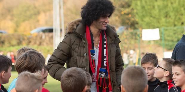 Marouane Fellaini et son père récompensés - La DH