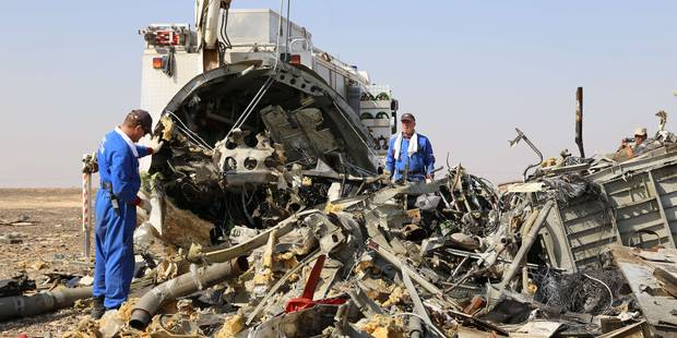 """Crash en Egypte: """"Forte probabilité"""" d'une bombe de l'EI - La DH"""
