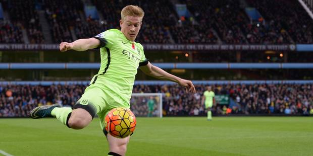 Kevin De Bruyne à nouveau joueur du mois à Manchester City - La DH