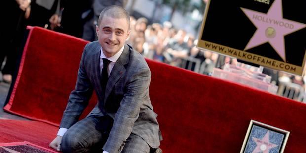 Daniel Radcliffe inaugure son étoile à Hollywood - La DH