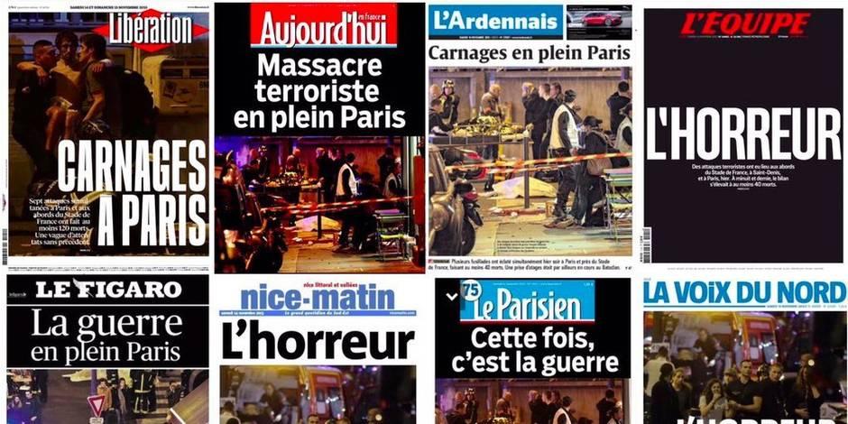 "Revue de presse: ""La guerre en plein Paris"""